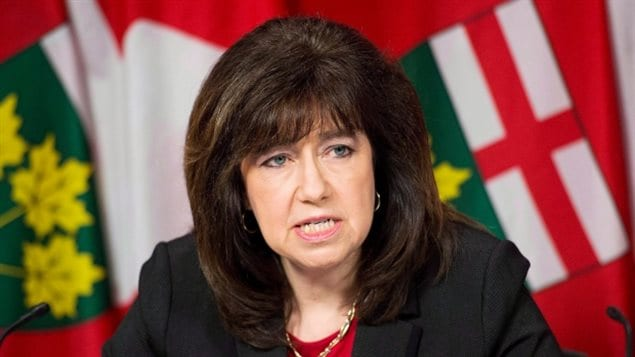 Ontario Auditor General Bonnie Lysyk slammed the Liberal government in her new annual report released Wednesday, bemoaning *excessive* wait times for hospital beds and revealing shoddy highway paving by contractors.