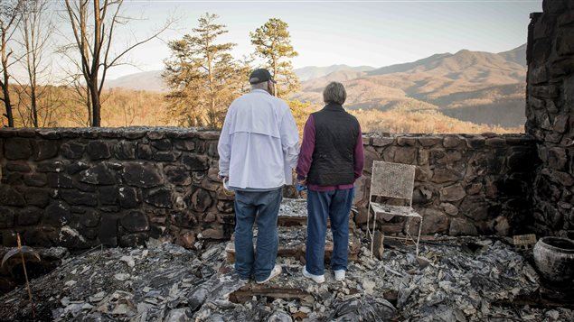 canadians reportedly killed  tennessee wildfire