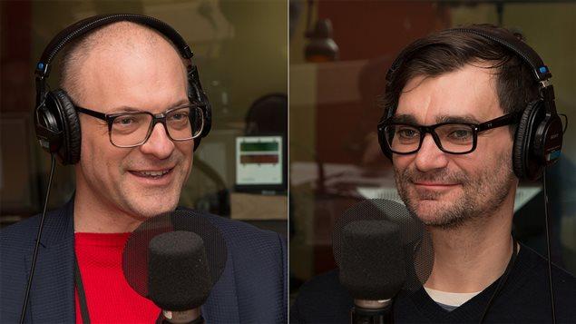 Marc-Antoine Ducas, président de Netlift, et Zachary Patterson, professeur agrégé à l'Université Concordia