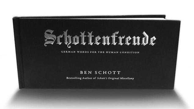 Le livre Schottenfreude, il y a un mot pour tout