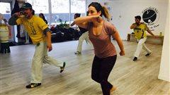 Portes ouvertes de l'école Capoeira Sul da Bahia-Québec.