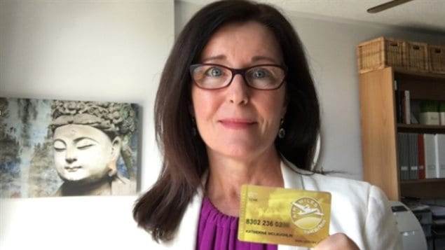 Katherine McLaughlin à Oakville en Ontario dit qu'elle a fini par dépenser environ 6 000 milles sur des articles qu'elle ne voulait pas. (Katherine McLaughlin)