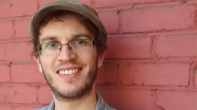 Simon Van Vliet, président de l'Association des journalistes indépendants du Québec.