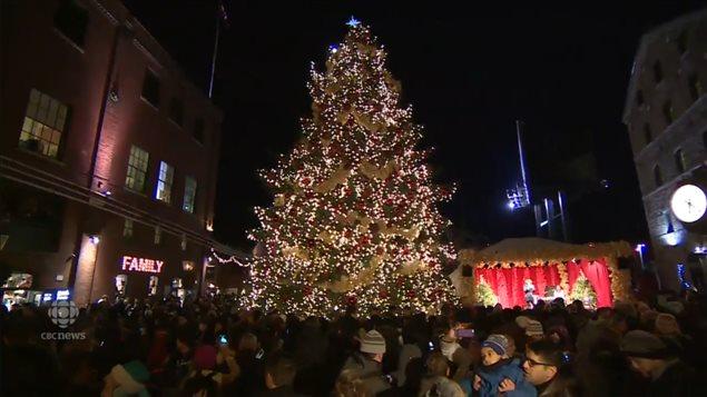 Ugly Christmas Tree.Montreal S Big Ugly Christmas Tree