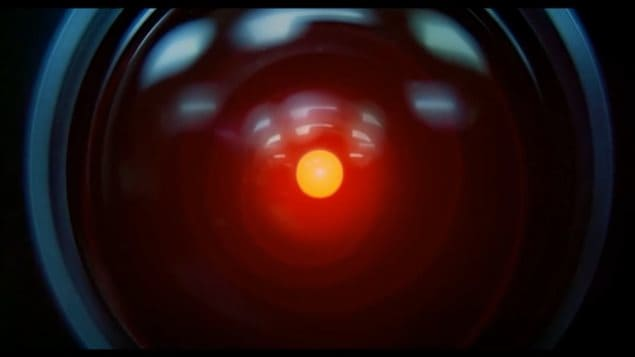 From Stanley Kubrik's 1968 film, *2001: A Space Odyssey* the AI computer HAL 9000, * I'm sorry Dave, Im afraid I can't do that...This mission is too important for me to allow you to jeapardize it*