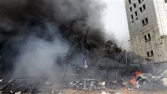 Explosions près d'un sanctuaire chiite à Damas