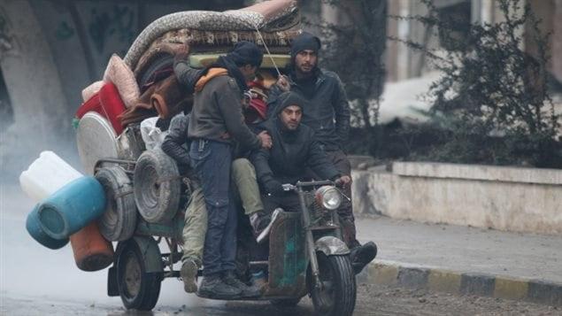 الهروب من حلب