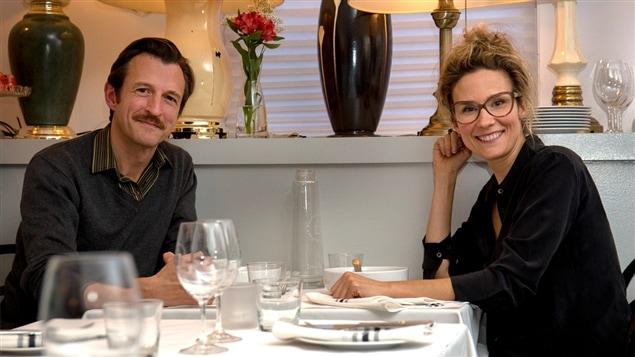 Stéphane Crête et Édith Cochrane