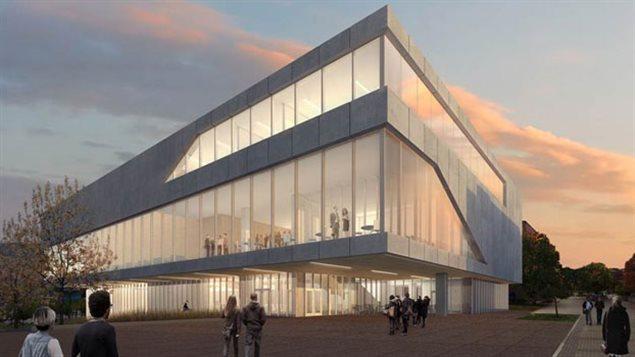 Le nouveau centre d'enseignement et d'apprentissage proposé a l'université de Colombie-Britannique dans l'Okanagan.