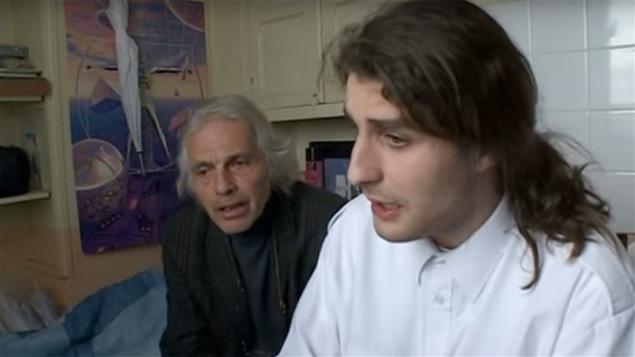 Image tirée d'un épisode de la série documentaire <i>Strip-tease</i>, maintenant offerte sur YouTube