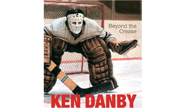 *Beyond the Crease* a  new book by and about the late Canadian artist Ken Danby. The title is a play an the artwork shown, called *In the Crease*.