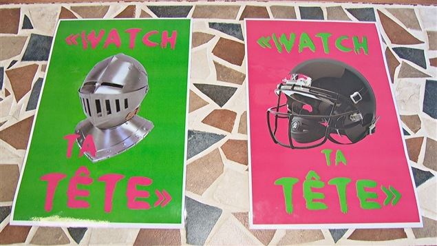 Une affiche du programme « Watch ta tête »