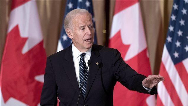 U.S. Vice-President Joe Biden speaks during a state dinner on Thursday, Dec. 8, 2016 in Ottawa.