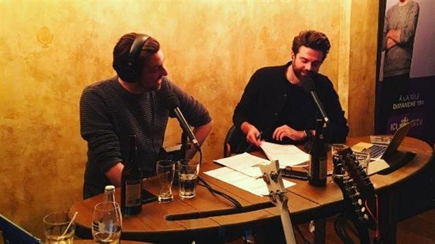 MC Gilles et Jean-Philippe Wauthier