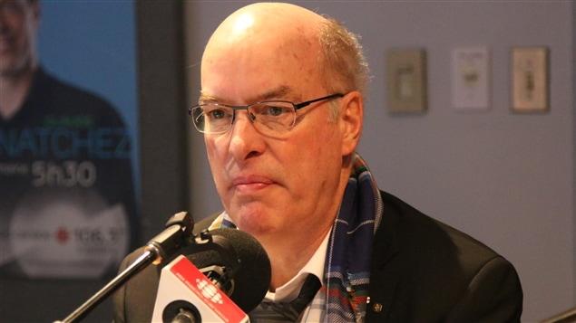 Louis Fortier, directeur de la science et de l'innovation à l'Institut nordique du Québec