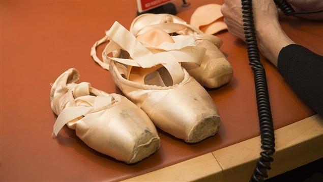 Des chaussons de ballerine