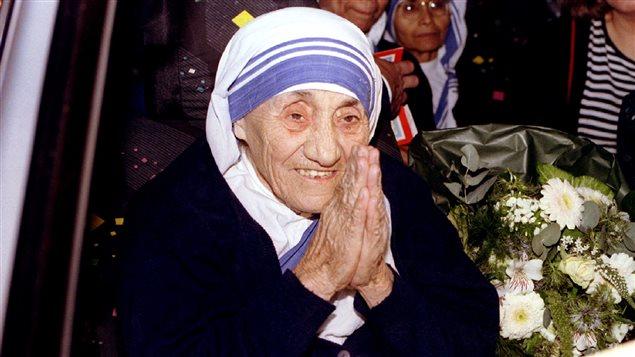 Mère Teresa en 1995