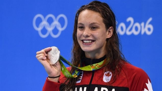Penny Oleksiak spent a wonderful summer in Rio.