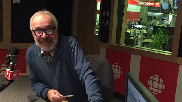 Le journaliste Pierre Martineau