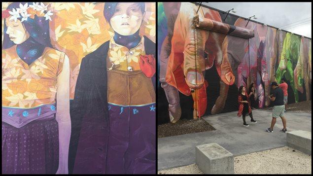 L'art de la rue dans le quartier Wynwood de Miami.