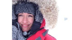 RCI's Eilis Quinn in Baker Lake Nunavut 2016