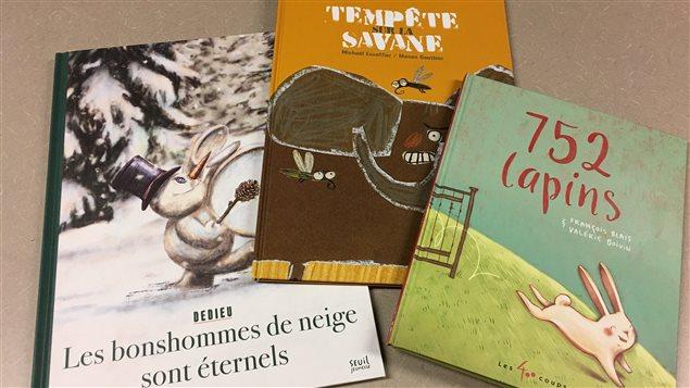 Trois livres coups de coeur d'Anne Michaud