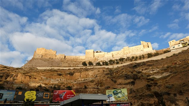 Karak Castle where armed gunmen carried out an attack yesterday is seen, in the city of Karak, Jordan, December 19, 2016.