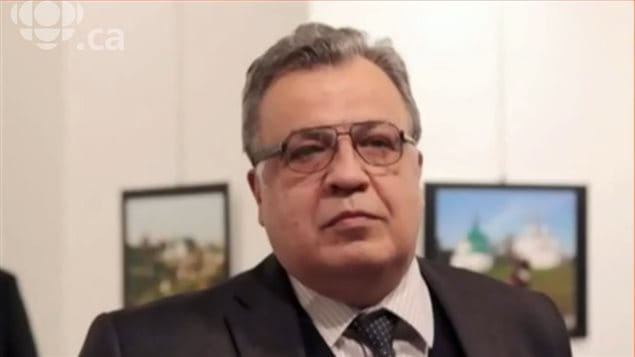 L'ambassadeur de Russie en Turquie, Andreï Karlov