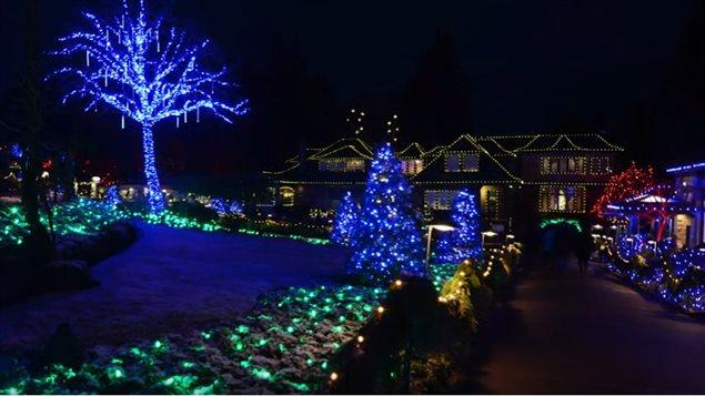 Les jardins Butchard sur l'île de Vancouver
