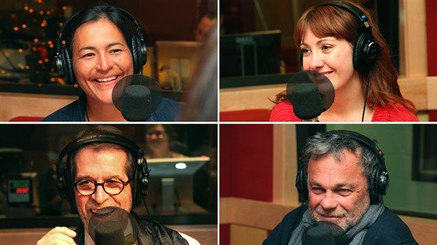 Michèle Audette, Rose-Aimée Automne T. Morin, Camil Bouchard et Jacques Davidts