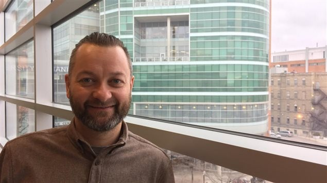 Prof Jonathan McGavock, Professeur Agrégé au department de Pédiatrie et de Santé des Enfants au Collège Max Rady de Médecine de l'Université de Manitoba