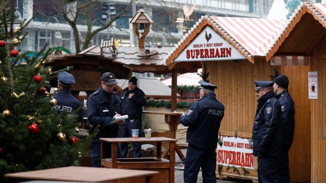 Los mercados navideños fueron cerrados en todo el país, después del atentado en Berlín.