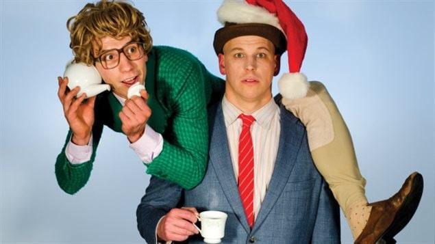 Le duo comique canadien JAMES et JAMESY revient dans la région, à Maple Ridge, avec leur spectacle de saison: O CHRISTMAS TEA.