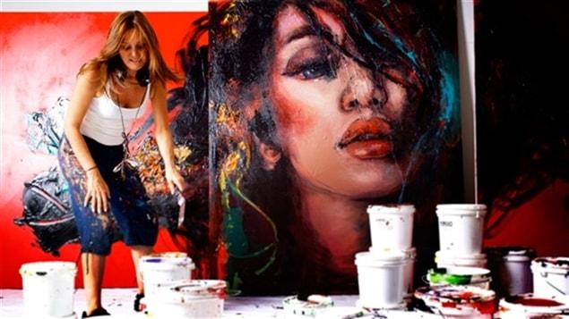 L'artiste peintre Corno (Joanne Corneau)