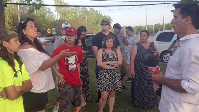 In 2015 a non-native man living with a Mohawk woman was chased from her house and off the reserve. Protesters said it was because he had a criminal record, his girlfriend says it was because he was non-native. CBC and Radio-Canada reporters met with a hostile reaction from protesters and had to leave the reserve