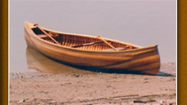 Giesler can build several models and lengths of canoes, and although built as *working* craft, there is no denying the care and artistry that goes into these handmade cedar boats.