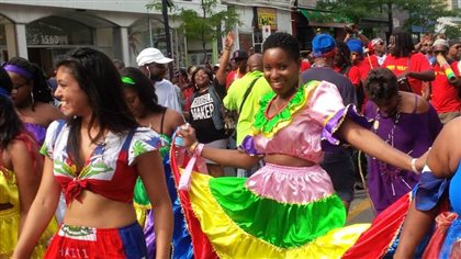 A highlight of a Montreal summer is Fabienne Colas's creation, Haiti en Folie, a week-long celebration of Haitians and their culture.