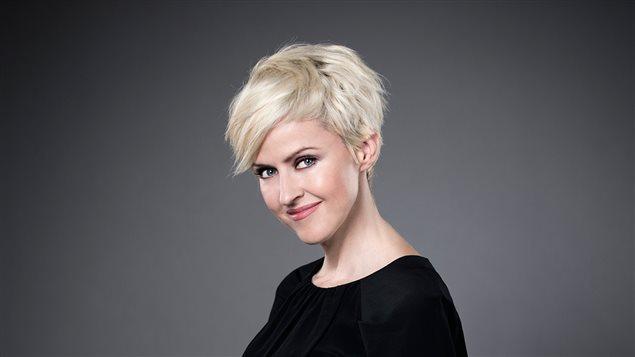 L'animatrice Geneviève Borne