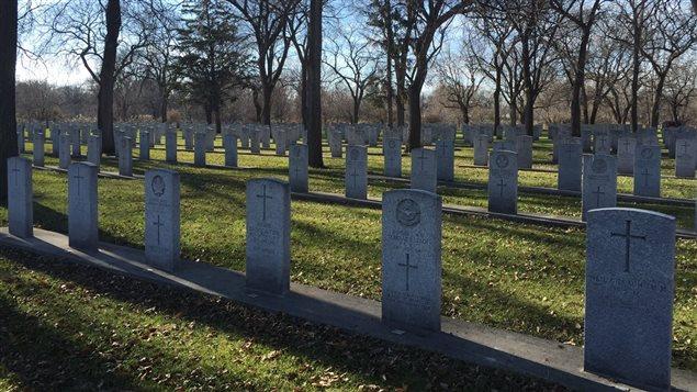 Le cimetière militaire Brookside, à Winnipeg