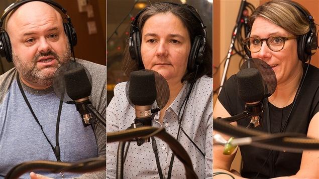 Jean-Sébastien Boudreault, Marie Houzeau et Annie Pullen Sansfaçon