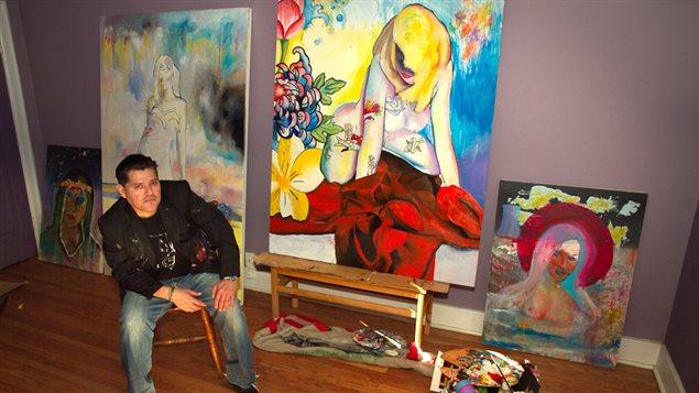 Vladimir Valiente, pintor, artista visual interdisciplinario.