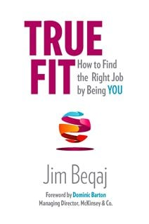 In his book, Jim Beqaj argues that people must find themselves in order to find the right jobs.