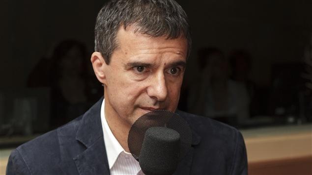 Le psychanalyste Guy Corneau, en 2011