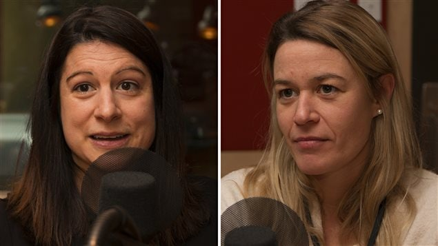 Justine Granger et Ingrid Sirois ont toutes deux perdu un proche dans une avalanche.
