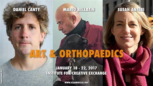 Arte y Ortopedia, Taller de Inmersión del Instituto para el Intercambio Creativo de Toronto.