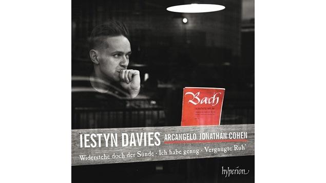 Pochette de l'album <i>Bach : Cantatas nos 54, 82, 170</i> de Iestyn Davies et Jonathan Cohen, paru sous étiquette Hyperion