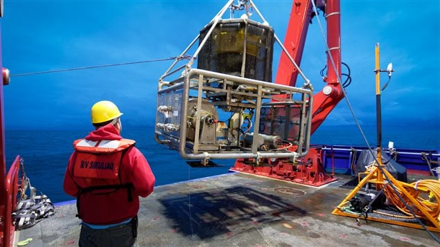 Ocean Networks Canada uses equipment on the ocean floor to record information.