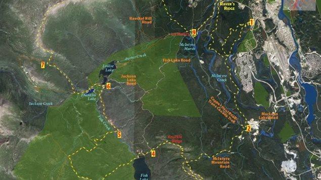 Une nouvelle course de marathon ultra annoncée au Yukon