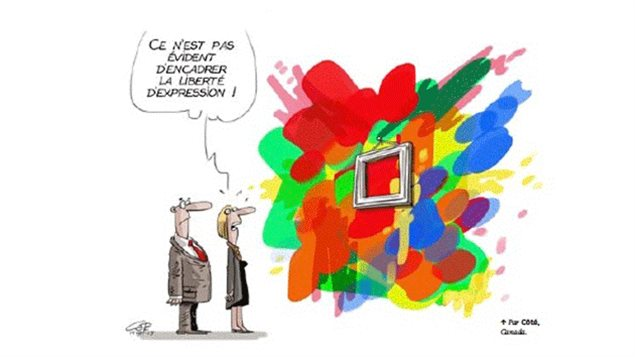 L'exposition 'Dessins en Liberté' a l'Alliance francaise.