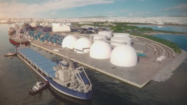 Le projet Beauport 2020 comprend l'ajout de 610 mètres de quai en eau profonde.